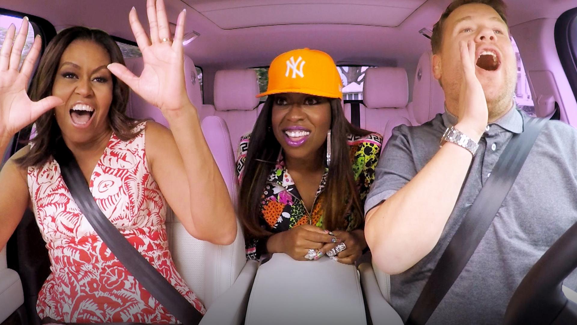 ICYMI: Michelle Obama On Carpool Karaoke [VIDEO]