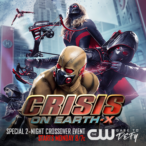 Win a Crisis on Earth-X Prize Pack