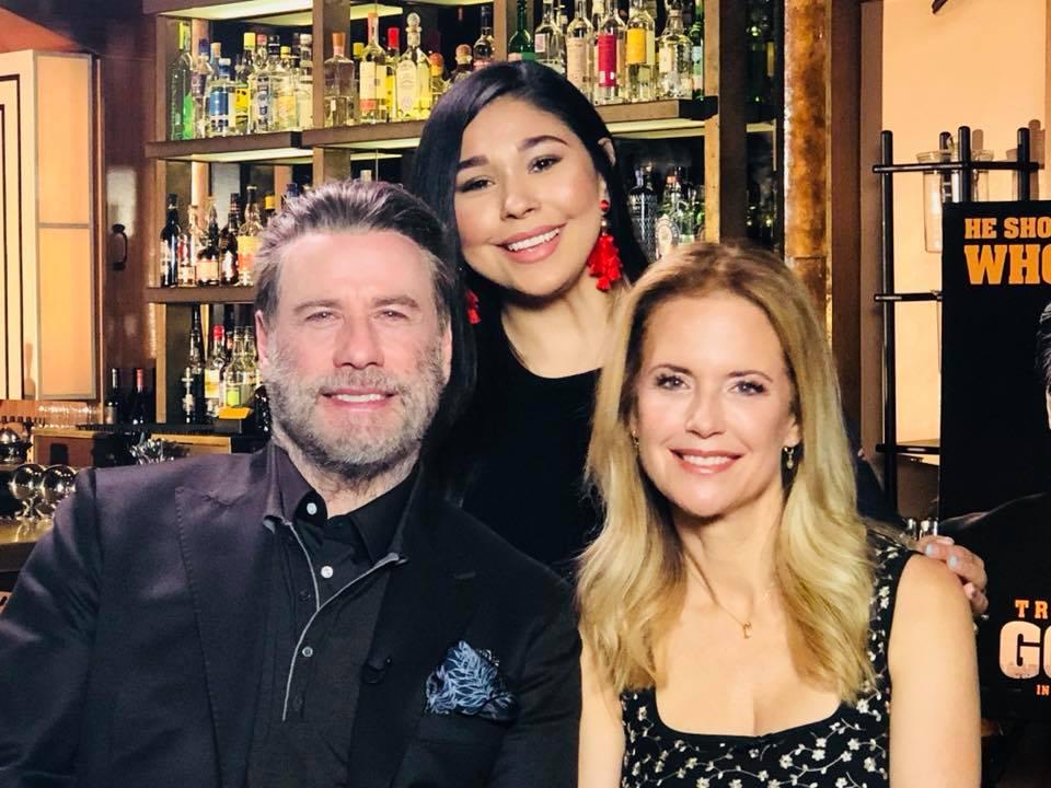 Gotti Hits Dallas! Vicki OH! Exclusive Interview with John Travolta and Kelly Preston [VIDEO]