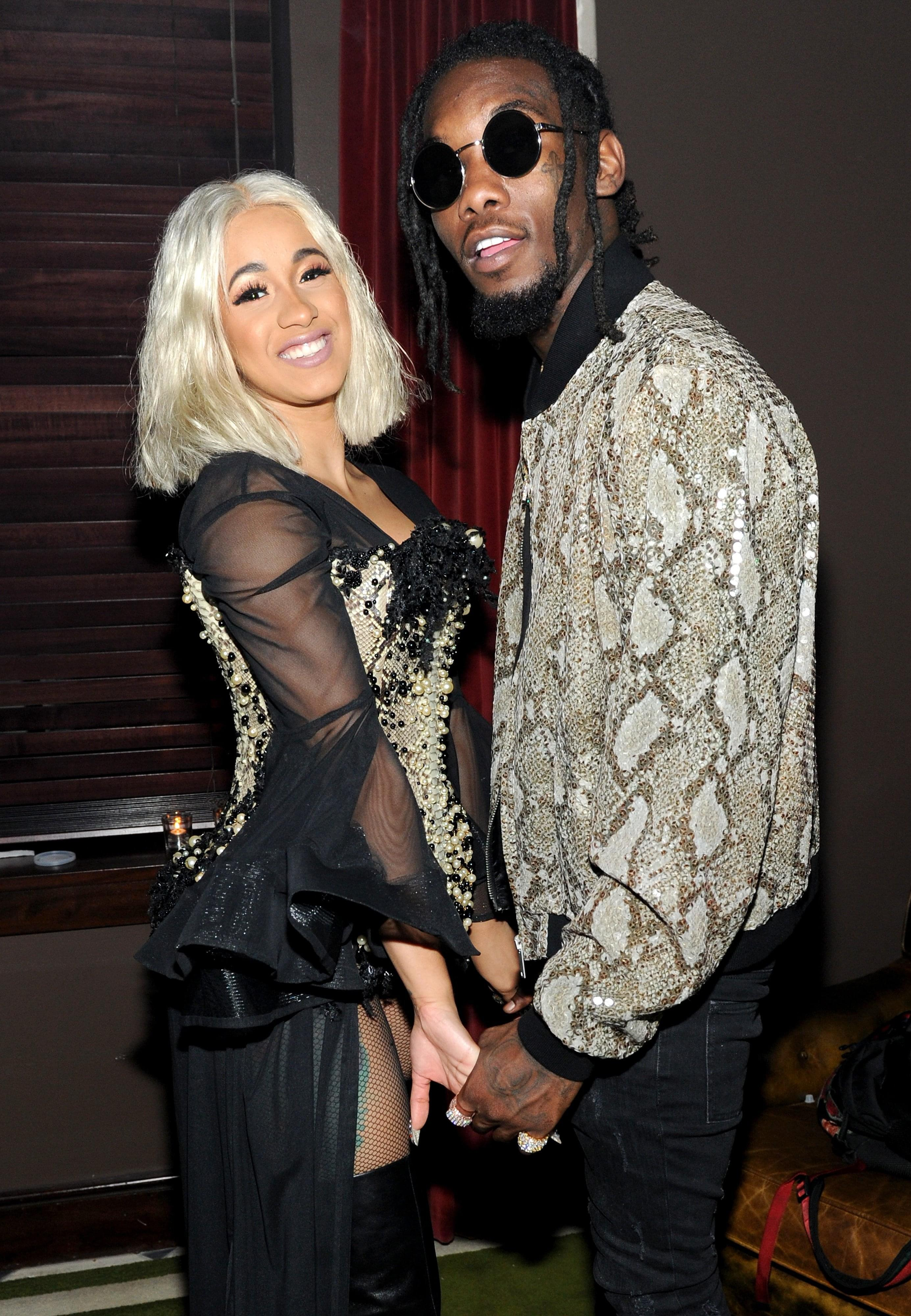Cardi B And Offset Show Off Daughter Kulture