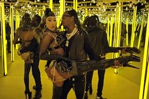 "Offset and Cardi B Release ""Clout"" Music Video"