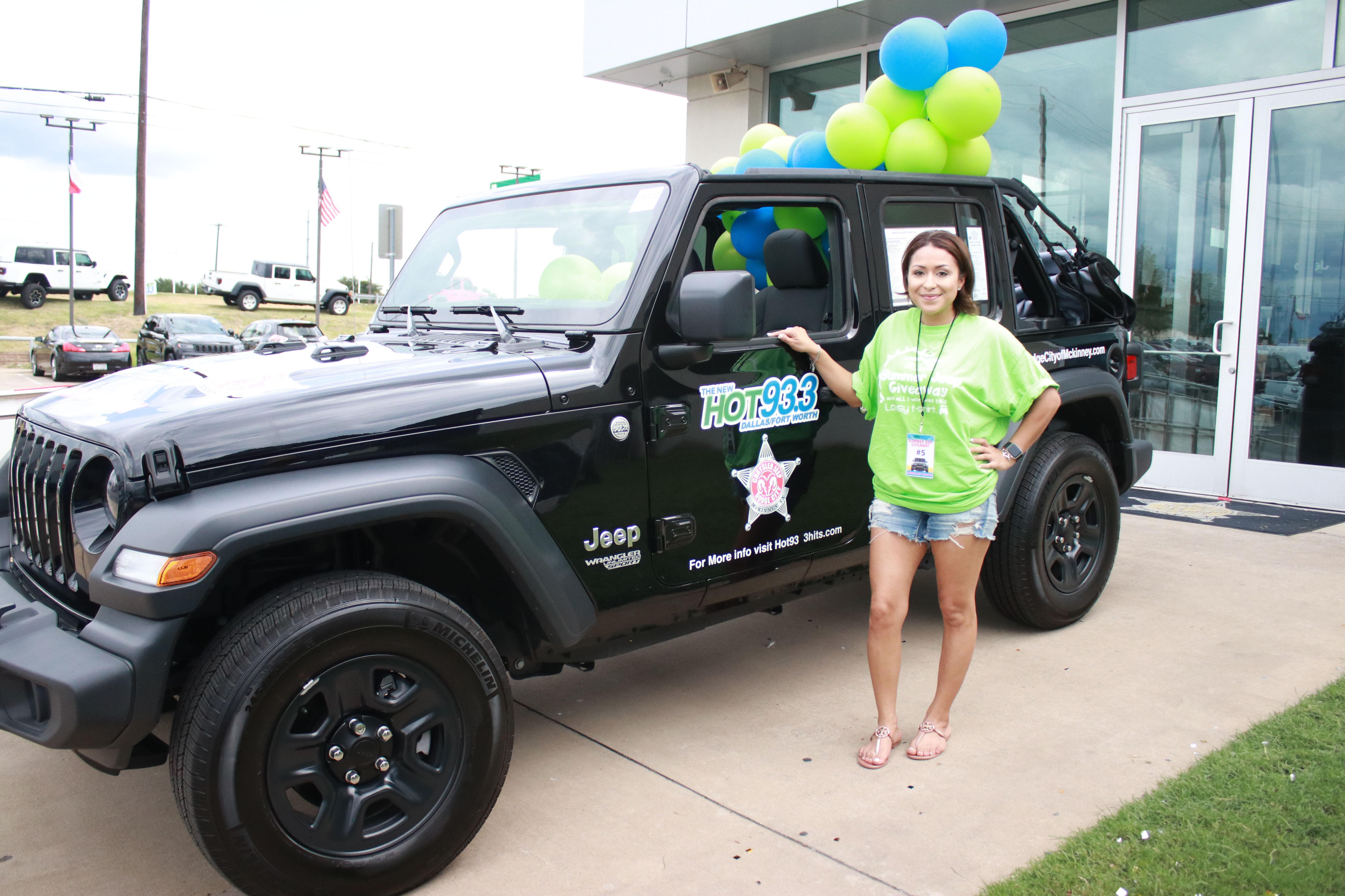 HOT 93.3's Summer Jeep Giveaway | 8.24.19