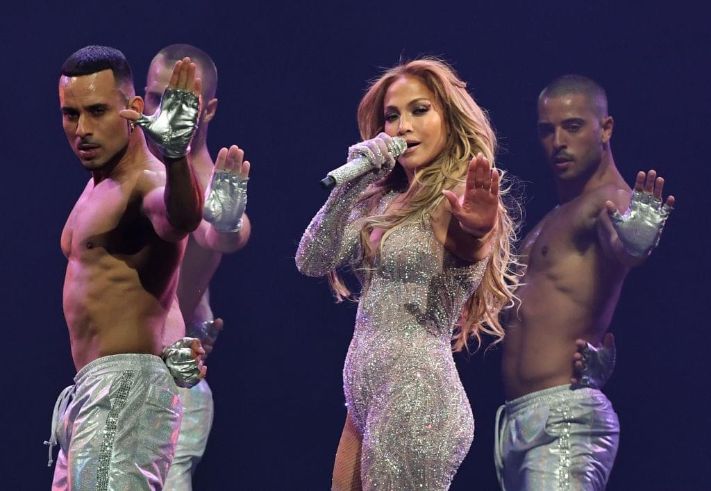 Jennifer Lopez Wows In Iconic Versace Dress At Milan Fashion Week