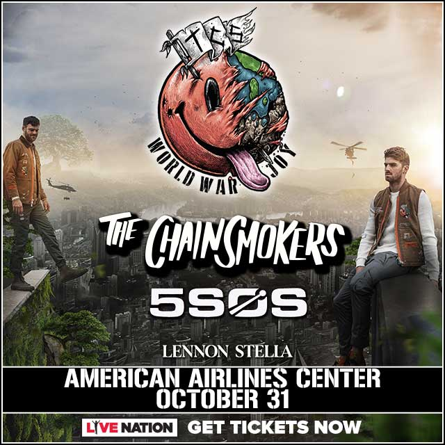 Listen to Win Tickets to see The Chainsmokers!