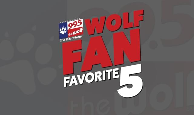 """Your """"One-Hit Wonder Day"""" Wolf Fan Favorite 5 Countdown"""