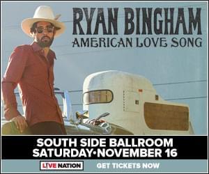 Win Tickets to See Ryan Bingham November 16!