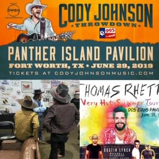 Triple Header Concert Weekend! Need To Know Info For Thomas Rhett, Midland and Cody Johnson