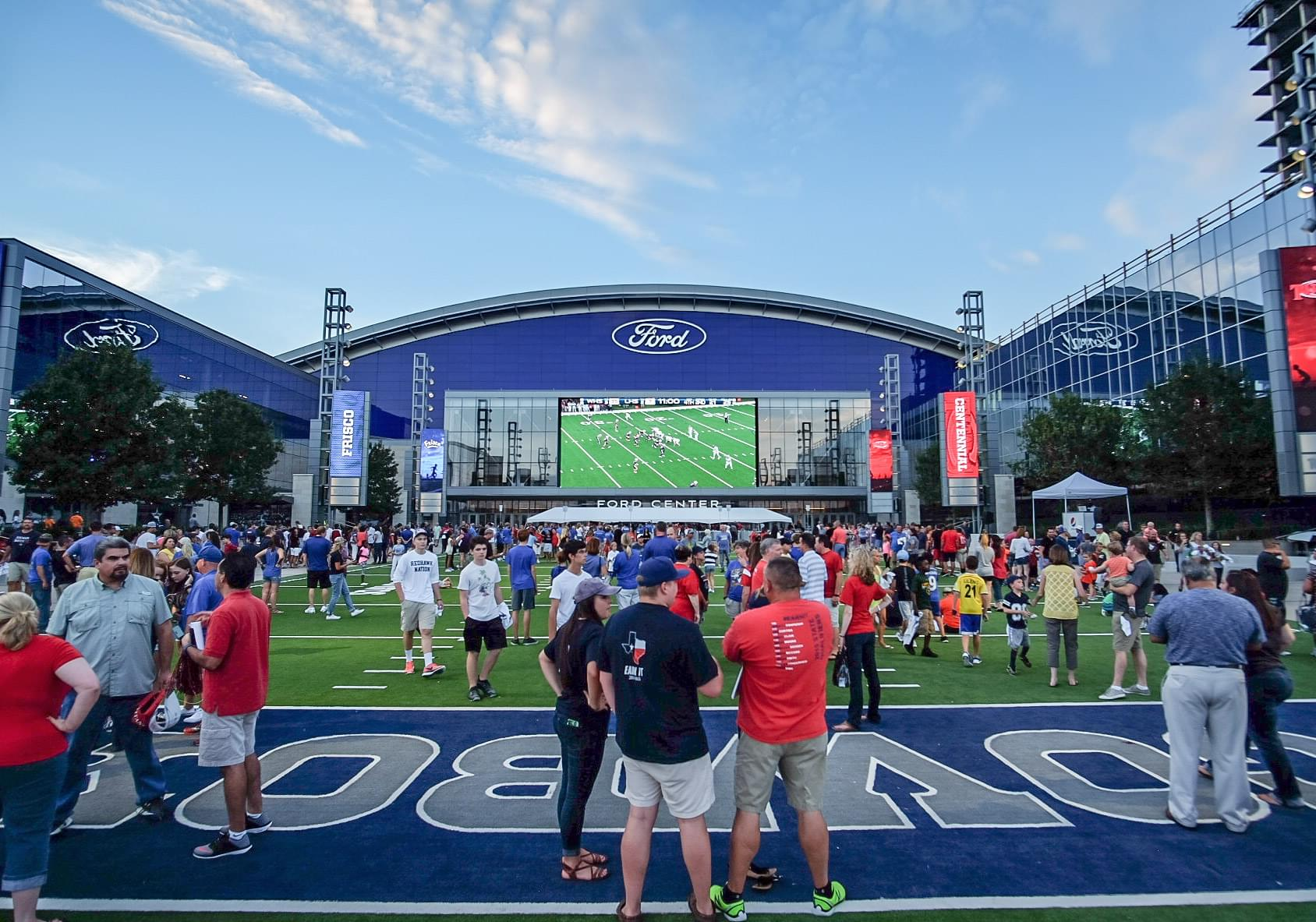 See The Cowboys Practice In Frisco