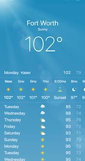 Is This The Last 100 Degree Day For The Year?