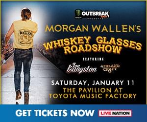 Morgan Wallen's Whiskey Glasses Road Show | The Pavilion at Toyota Music Factory | 1.11.20