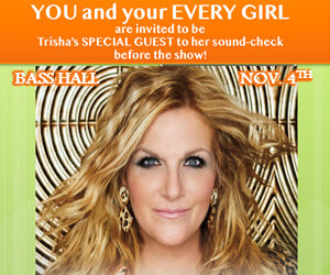 Be Trisha Yearwood's Special Guest!
