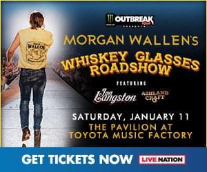 Win Ticket to see Morgan Wallen!