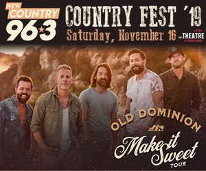 New Country 96.3 Country Fest '19