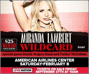 Miranda Lambert | American Airlines Center