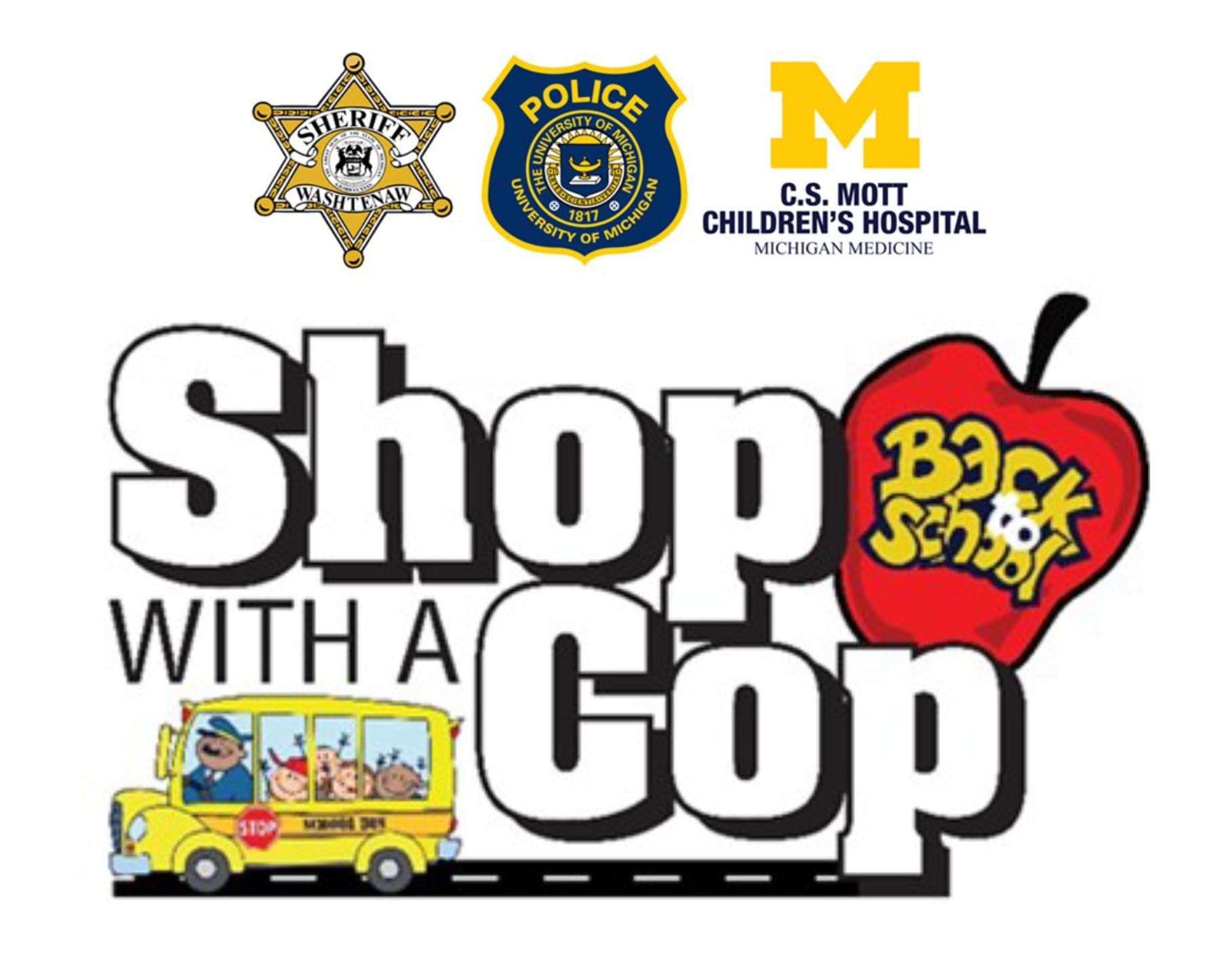 Back To School Shop with a Cop 2019