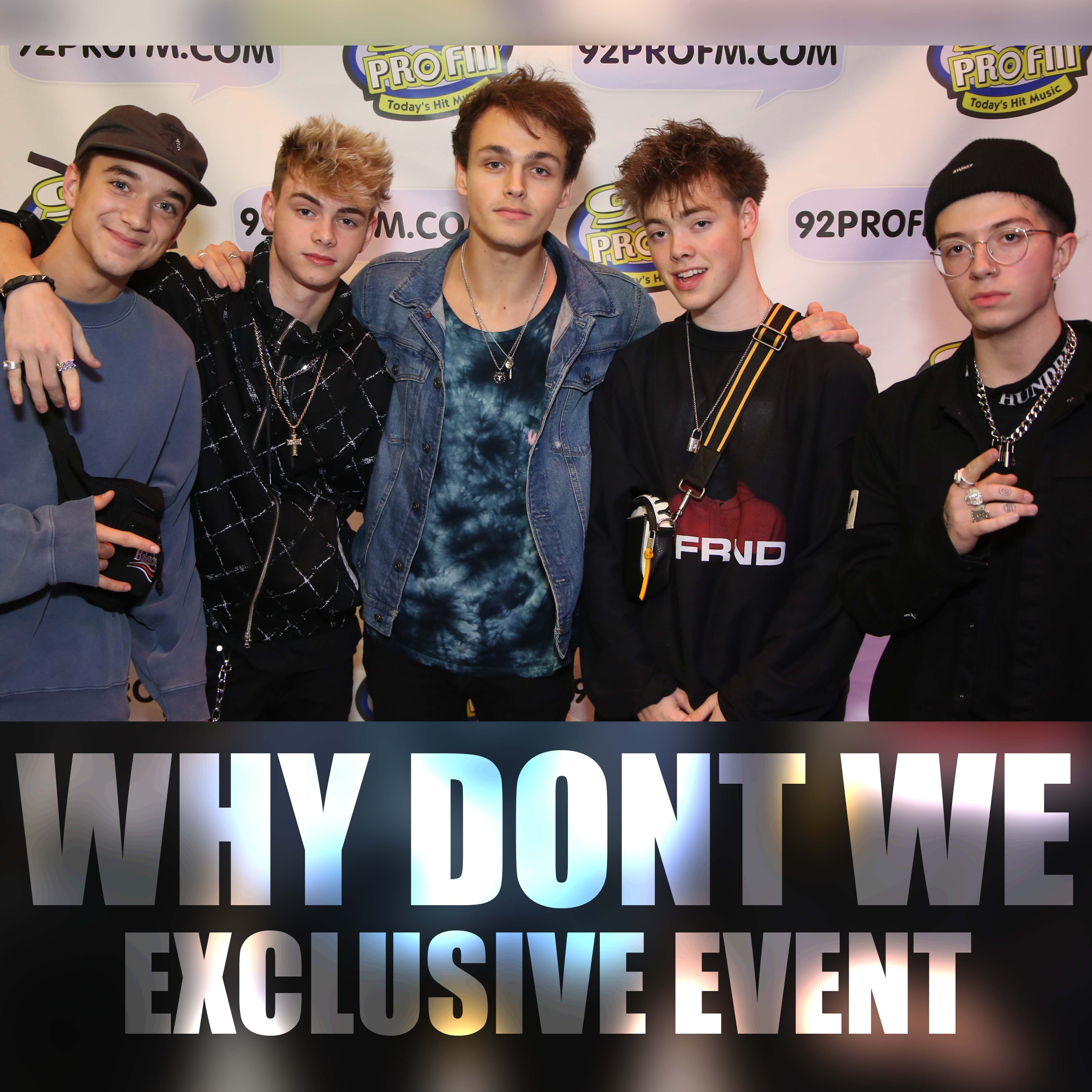 Why Don't We – VIDEO – Exclusive Listeners Party