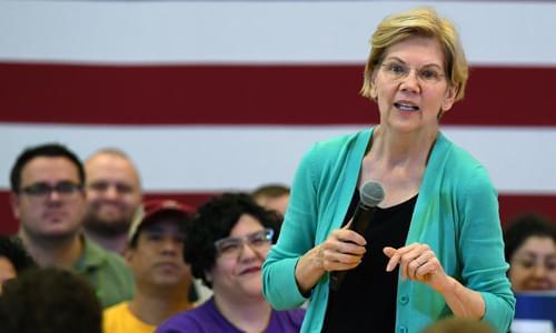 Elizabeth Warren Completes Her Total Abandonment Of Israel