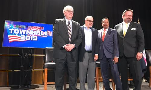 Mark Levin Joins 870 AM The Answer's Townhall