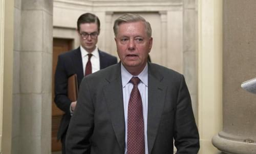 Lindsey Graham Announces Investigation Into Biden Firing Of Ukraine Prosecutor