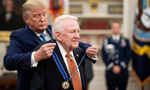 President Trump Presents the Presidential Medal of Freedom to Edwin Meese