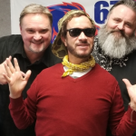 Pauly Shore visits with Kasper and Chris
