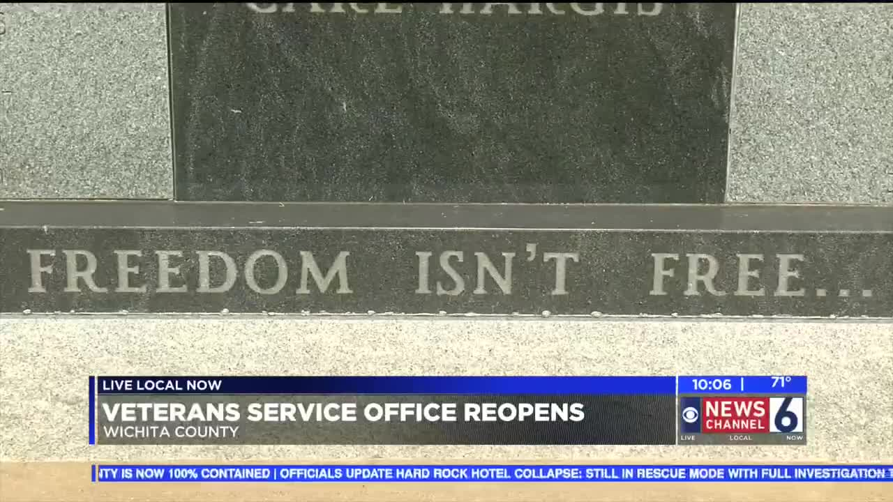 Wichita County Veterans Service Office Reopens