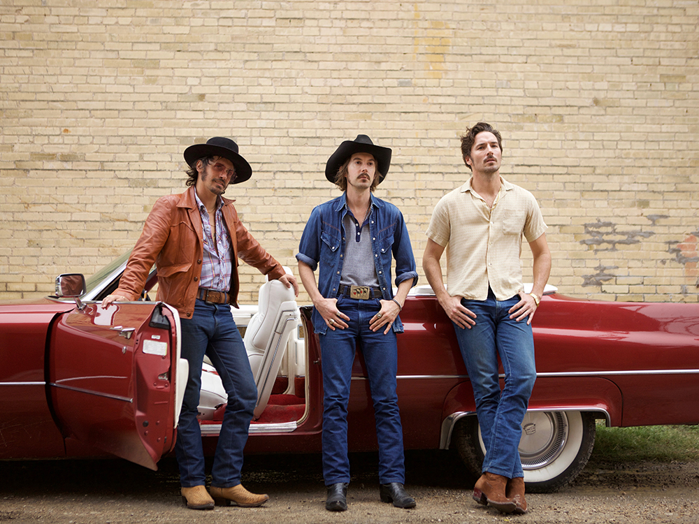 "Country's Hippest New Trio, Midland, Reveals Lawbreaking New Video for ""Drinkin' Problem"""