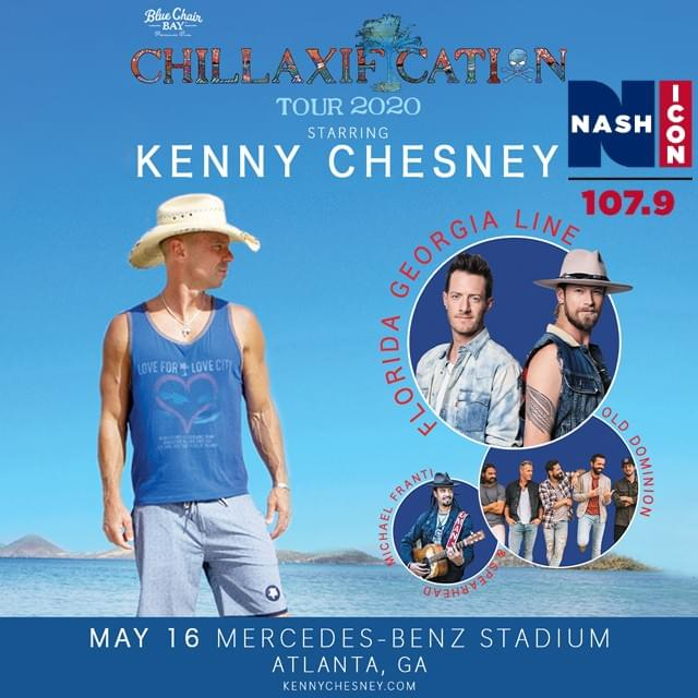 May 16th, Kenny Chesney @ Mercedes Benz Stadium