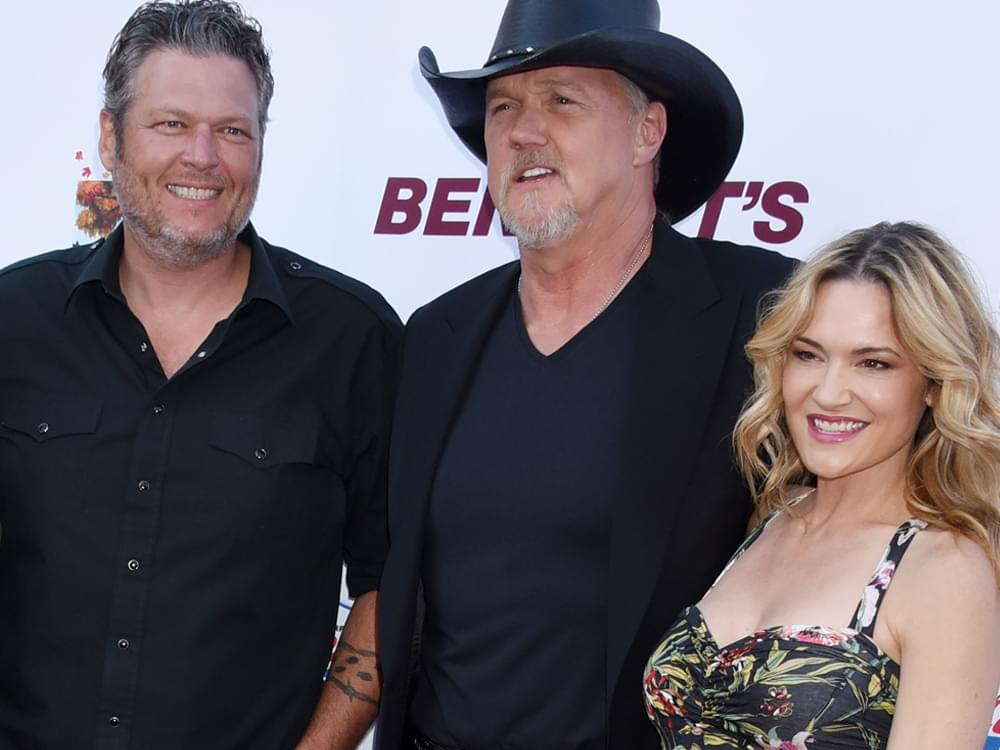 Trace Adkins Marries Victoria Pratt as Blake Shelton Officiates