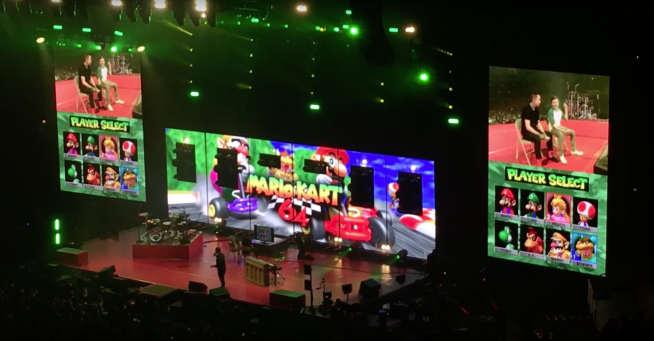 Twenty One Pilots Play Mario Kart 64 At The United Center – 101WKQXPERIENCE