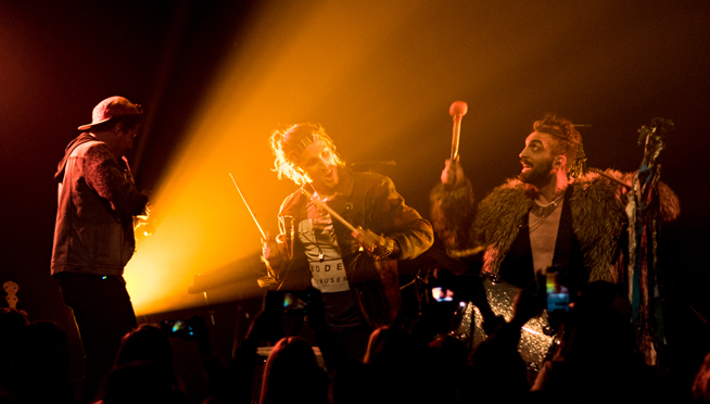 Queued Up Artist Showcase with Magic Giant