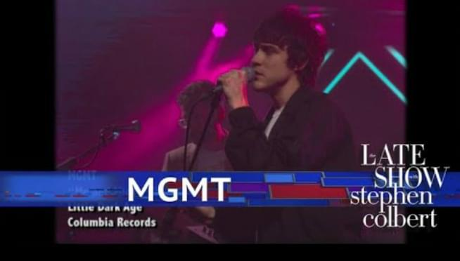 Oooo Girl! MGMT bring 'Electric Feel' to CBS's 'Late Show'