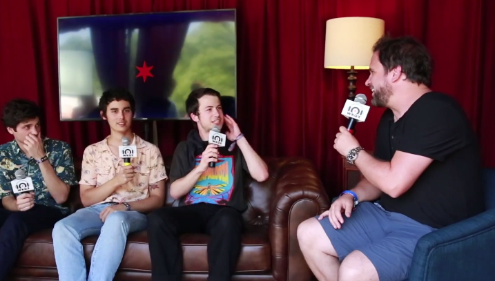 Lollapalooza: Wallows talk love of corn dogs, Arctic Monkeys (backstage interview with Brian)