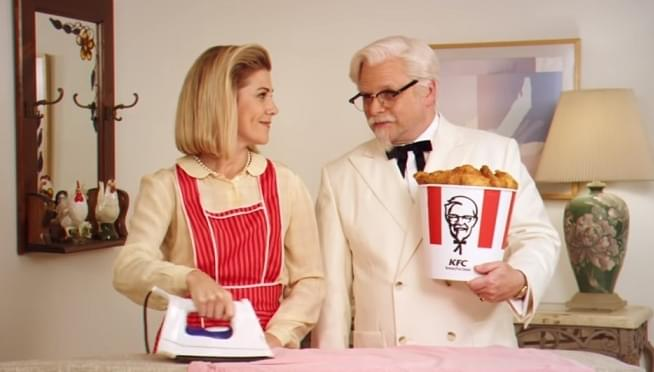 Date KFC's Colonel Sanders in this epic new video game