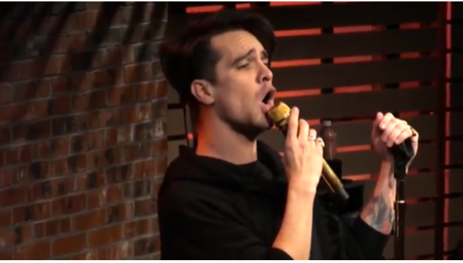 How do you mistake Panic! At The Disco for Fall Out Boy?