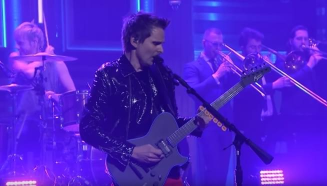Muse Pressure Live on The Tonight Show
