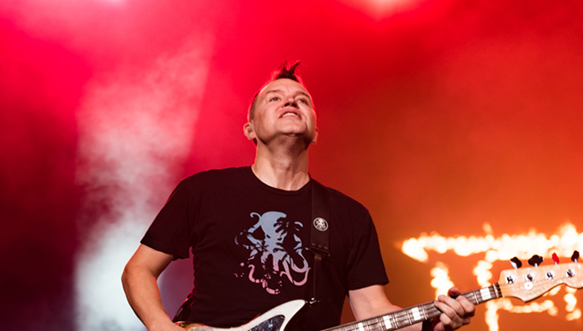 Mark Hoppus shares haunting cover tribute to late singer of The Cars