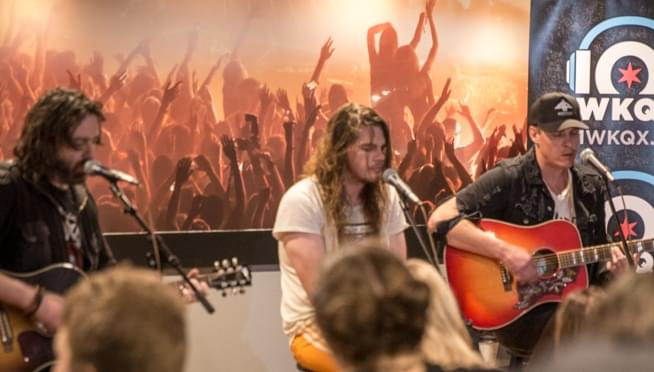 PIQNIQ 101WKQXperience: The Glorious Sons Backstage Performance