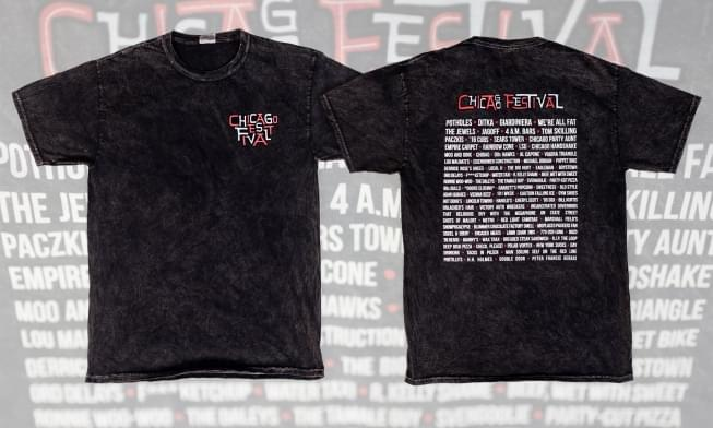 101WKQX's 'Chicago Festival' shirt has locals freaking out