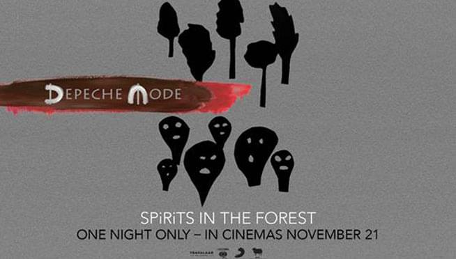 Win Passes to see Depeche Mode: SPIRITS in the Forest Movie Passes