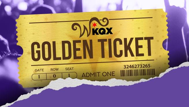 "Win the 101WKQX ""Golden Ticket"" for 2020"