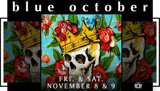 Win MEET AND GREET passes for Blue October!