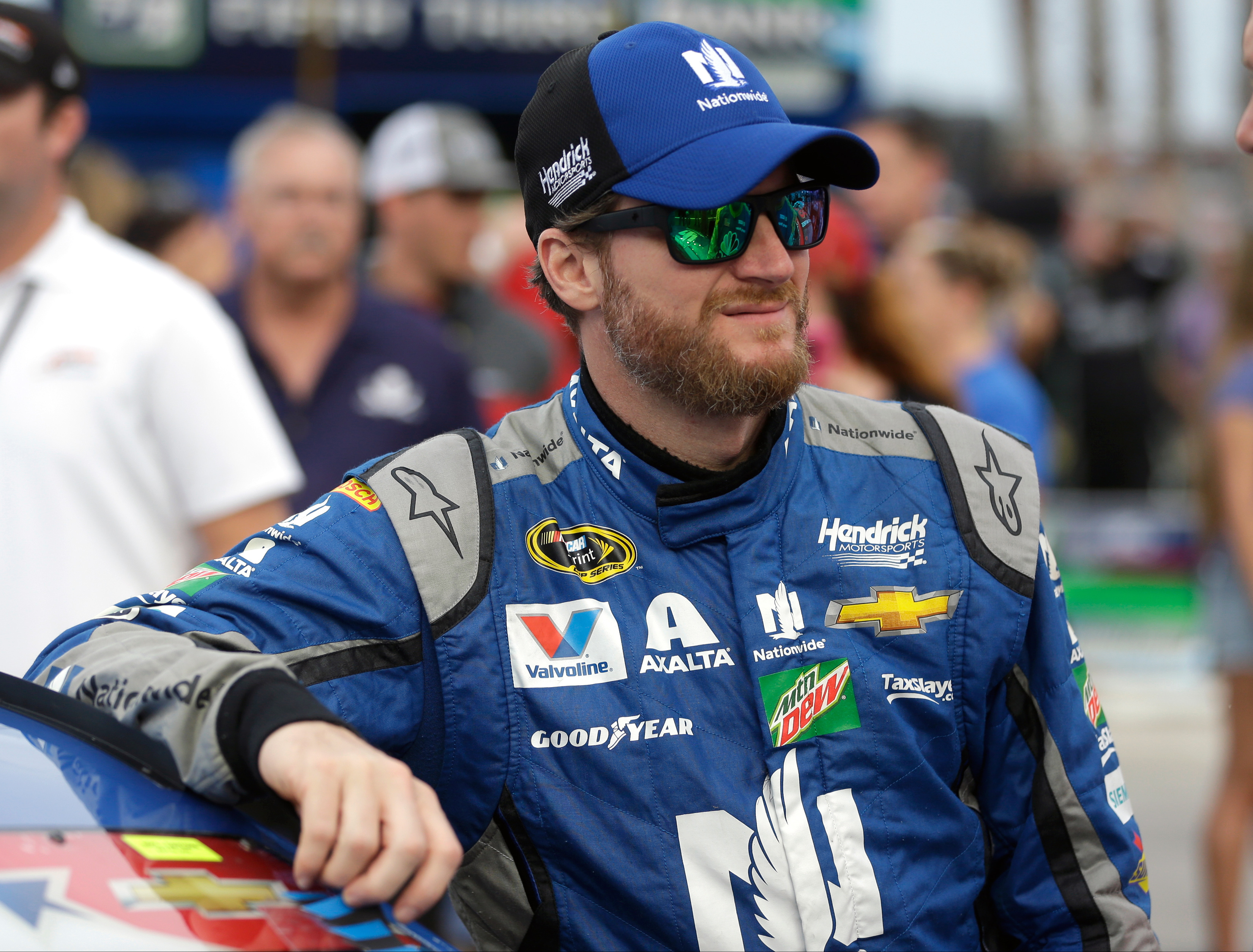 Dale Earnhardt Jr. and his first book, Racing to the Finish: My Story