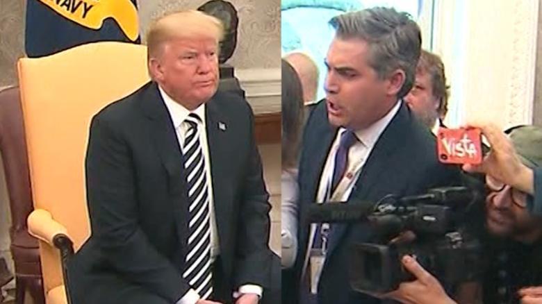 White House aide yells at CNN's Jim Acosta