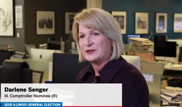 """Darline Senger: """"You want someone that'll be there and commit, and she won't commit to being comptroller"""""""