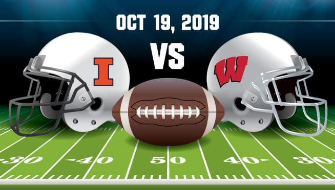 10/19/19 – ILLINOIS VS Wisconsin Homecoming Game!
