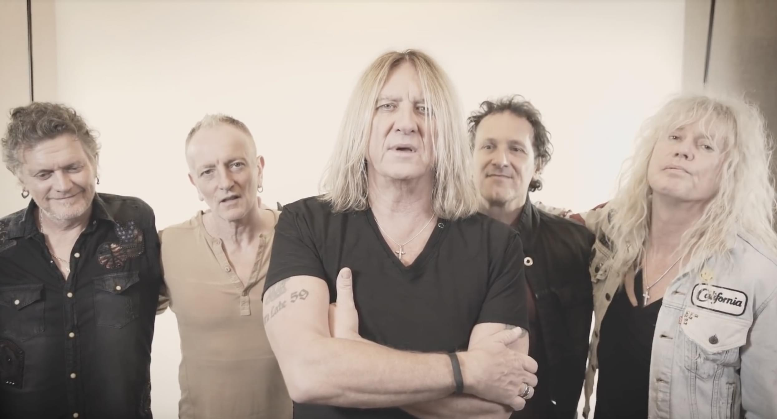 "VIDEO: Def Leppard releases new holiday song: ""We All Need Christmas"""