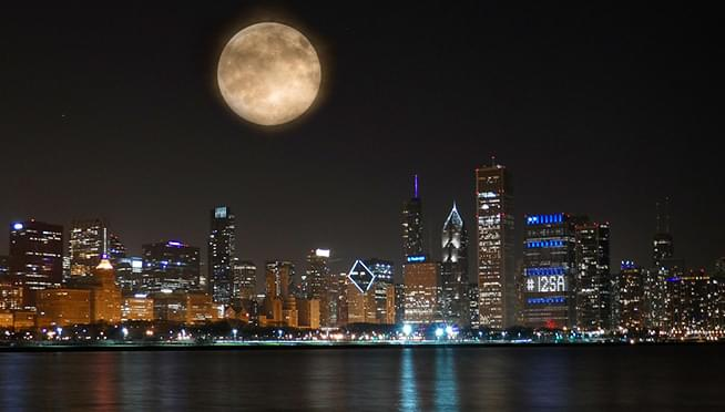 Enormous Hunter's Full Moon coming October 13th