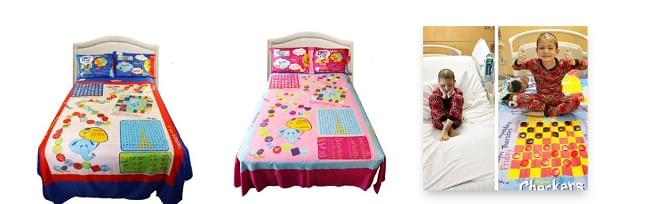 PLAYTIME EDVENTURES Turns Bed Sheets Into Games For Children Stuck In Bed!