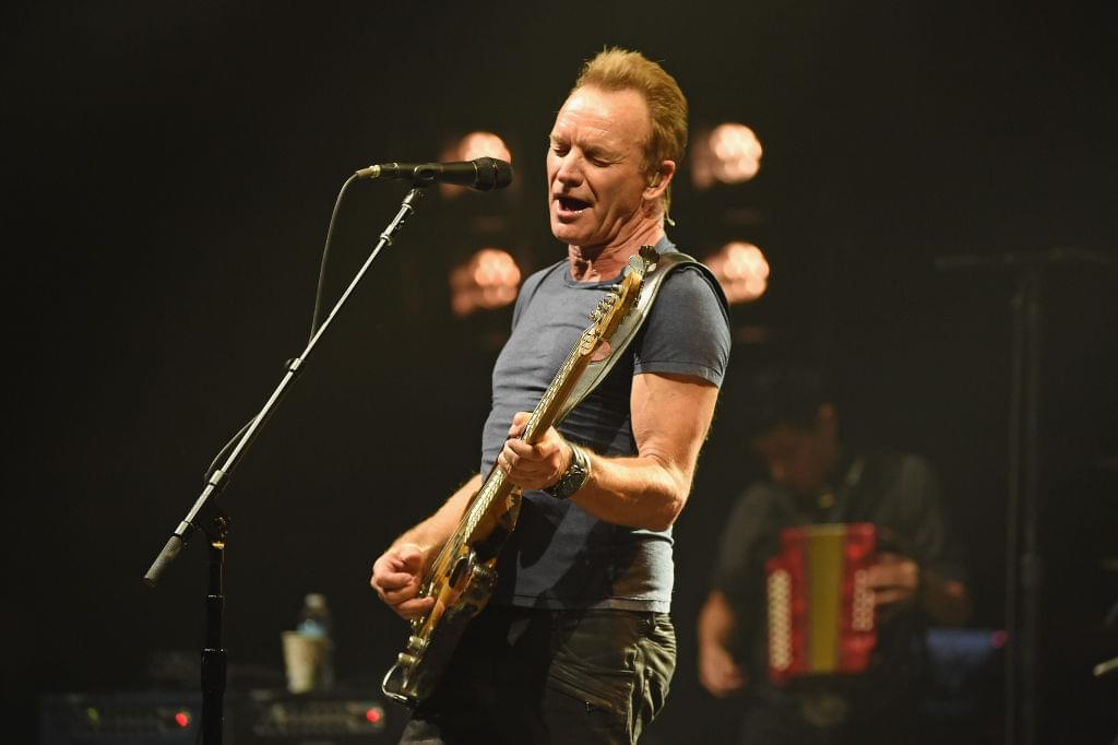 Sting releasing 'My Songs: Live' collection next month